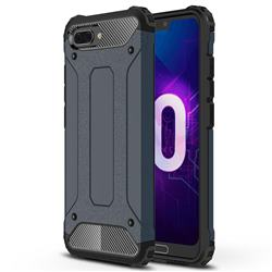 King Kong Armor Premium Shockproof Dual Layer Rugged Hard Cover for Huawei Honor 10 - Navy