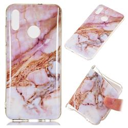 Classic Powder Soft TPU Marble Pattern Phone Case for Huawei Honor 10 Lite