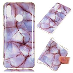 Earth Soft TPU Marble Pattern Phone Case for Huawei Honor 10 Lite