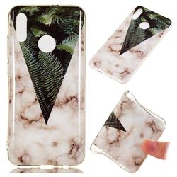 Leaf Soft TPU Marble Pattern Phone Case for Huawei Honor 10 Lite