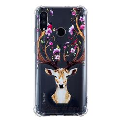 Always be Brave Anti-fall Clear Varnish Soft TPU Back Cover for Huawei Honor 10 Lite
