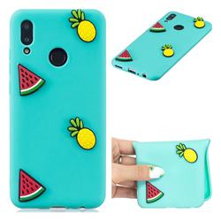 Watermelon Pineapple Soft 3D Silicone Case for Huawei Honor 10 Lite