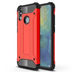 King Kong Armor Premium Shockproof Dual Layer Rugged Hard Cover for Huawei Honor 10 Lite - Big Red