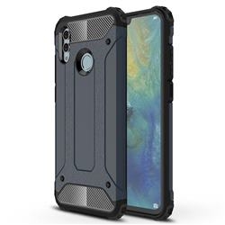 King Kong Armor Premium Shockproof Dual Layer Rugged Hard Cover for Huawei Honor 10 Lite - Navy