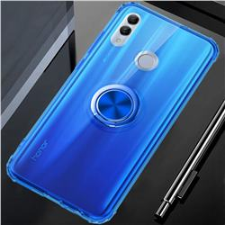 Anti-fall Invisible Press Bounce Ring Holder Phone Cover for Huawei Honor 10 Lite - Sapphire Blue