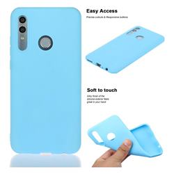 Soft Matte Silicone Phone Cover for Huawei Honor 10 Lite - Sky Blue