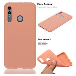 Soft Matte Silicone Phone Cover for Huawei Honor 10 Lite - Coral Orange