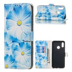 Orchid Flower PU Leather Wallet Case for Huawei Honor 10 Lite