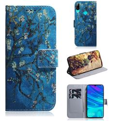 Apricot Tree PU Leather Wallet Case for Huawei Honor 10 Lite