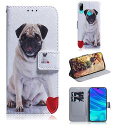 Pug Dog PU Leather Wallet Case for Huawei Honor 10 Lite