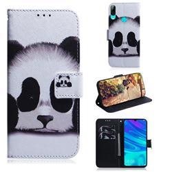 Sleeping Panda PU Leather Wallet Case for Huawei Honor 10 Lite