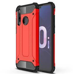 King Kong Armor Premium Shockproof Dual Layer Rugged Hard Cover for Huawei Honor 10i - Big Red