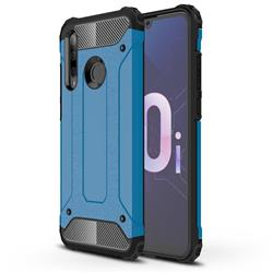 King Kong Armor Premium Shockproof Dual Layer Rugged Hard Cover for Huawei Honor 10i - Sky Blue
