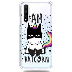 Batman Clear Varnish Soft Phone Back Cover for Huawei Honor 20