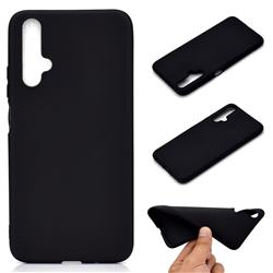 Candy Soft TPU Back Cover for Huawei Honor 20 - Black