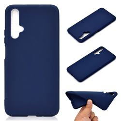 Candy Soft TPU Back Cover for Huawei Honor 20 - Blue