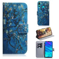 Apricot Tree PU Leather Wallet Case for Huawei Honor 20 Lite