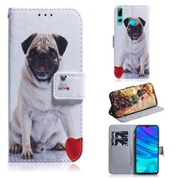 Pug Dog PU Leather Wallet Case for Huawei Honor 20 Lite