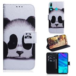 Sleeping Panda PU Leather Wallet Case for Huawei Honor 20 Lite