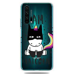 Batman Clear Varnish Soft Phone Back Cover for Huawei Honor 20 Pro