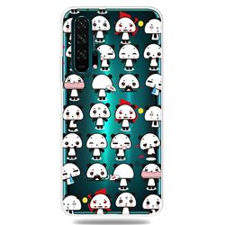 Mini Panda Clear Varnish Soft Phone Back Cover for Huawei Honor 20 Pro