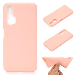 Candy Soft TPU Back Cover for Huawei Honor 20 Pro - Pink