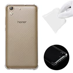 half off b8266 758f2 Anti-fall Clear Soft Back Cover for Huawei Honor 5A - Transparent