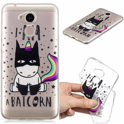 Batman Clear Varnish Soft Phone Back Cover for Huawei Honor 6A