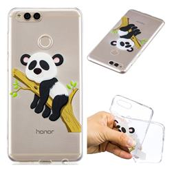 Tree Panda Super Clear Soft TPU Back Cover for Huawei Honor 7X