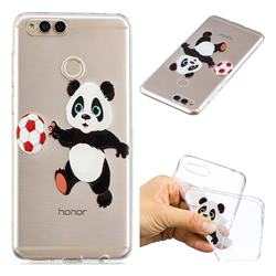 Football Panda Super Clear Soft TPU Back Cover for Huawei Honor 7X
