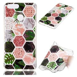 Rainforest Soft TPU Marble Pattern Phone Case for Huawei Honor 7X