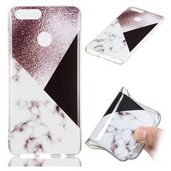 Black white Grey Soft TPU Marble Pattern Phone Case for Huawei Honor 7X