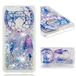 Fantasy Wind Chimes Dynamic Liquid Glitter Quicksand Soft TPU Case for Huawei Honor 8