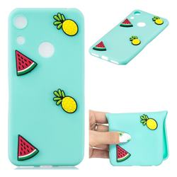 Watermelon Pineapple Soft 3D Silicone Case for Huawei Honor 8A