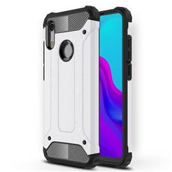 King Kong Armor Premium Shockproof Dual Layer Rugged Hard Cover for Huawei Honor 8A - White