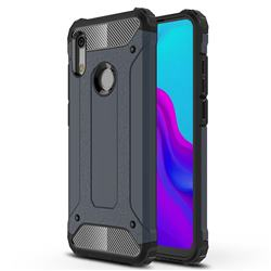King Kong Armor Premium Shockproof Dual Layer Rugged Hard Cover for Huawei Honor 8A - Navy