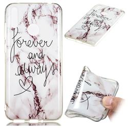 Forever Soft TPU Marble Pattern Phone Case for Huawei Honor 8C