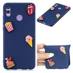 I Love Hamburger Soft 3D Silicone Case for Huawei Honor 8C