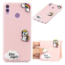 Kiss me Pony Soft 3D Silicone Case for Huawei Honor 8C