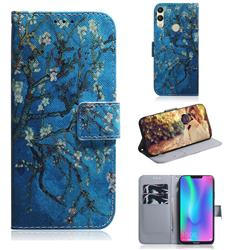 Apricot Tree PU Leather Wallet Case for Huawei Honor 8C
