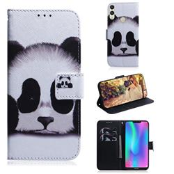 Sleeping Panda PU Leather Wallet Case for Huawei Honor 8C