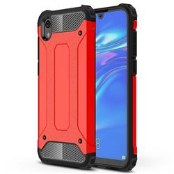 King Kong Armor Premium Shockproof Dual Layer Rugged Hard Cover for Huawei Honor 8S(2019) - Big Red