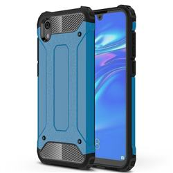 King Kong Armor Premium Shockproof Dual Layer Rugged Hard Cover for Huawei Honor 8S(2019) - Sky Blue