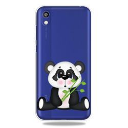 Bamboo Panda Clear Varnish Soft Phone Back Cover for Huawei Honor 8S(2019)