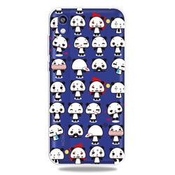 Mini Panda Clear Varnish Soft Phone Back Cover for Huawei Honor 8S(2019)