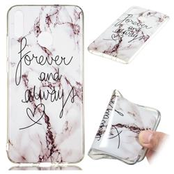 Forever Soft TPU Marble Pattern Phone Case for Huawei Honor 8X