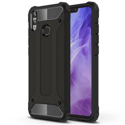 King Kong Armor Premium Shockproof Dual Layer Rugged Hard Cover for Huawei Honor 8X - Black Gold