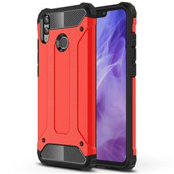 King Kong Armor Premium Shockproof Dual Layer Rugged Hard Cover for Huawei Honor 8X - Big Red