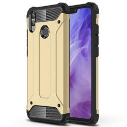 King Kong Armor Premium Shockproof Dual Layer Rugged Hard Cover for Huawei Honor 8X - Champagne Gold