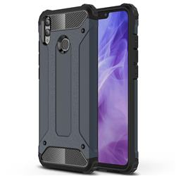 King Kong Armor Premium Shockproof Dual Layer Rugged Hard Cover for Huawei Honor 8X - Navy